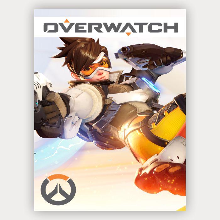 Placa Decorativa Tracer - Overwatch
