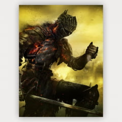 Quadro Decorativo Dark Souls