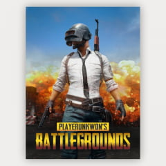 Quadro Decorativo PlayerUnknown's Battlegrounds - PUBG Mo.01