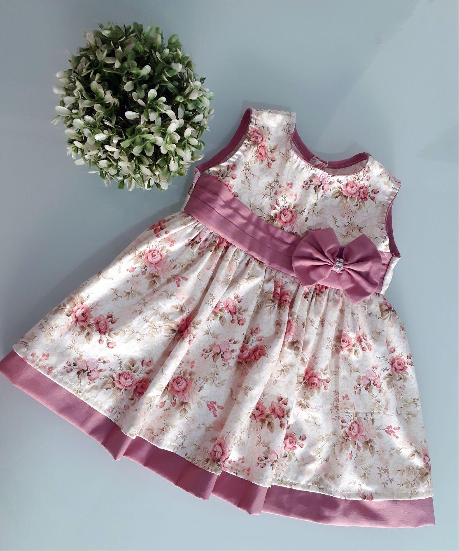b81454e96 Vestidos de Bebê - Enviamos para todo o Brasil