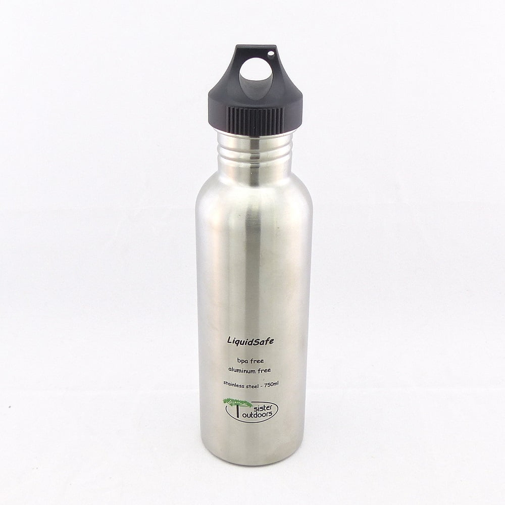 Garrafa de Hidratação (Cantil) LIQUIDSAFE Inox 750ml