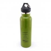 Garrafa Térmica (Cantil) LIQUIDSAFE 600ml Verde