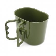 Caneco Porta Cantil Plástico Verde Oliva