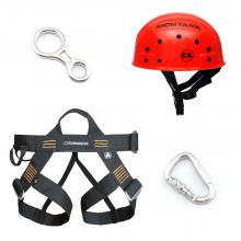Kit Básico Rapel, Escalada, Canyoning e Aventura