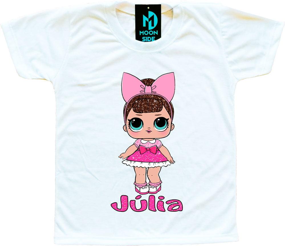 Camiseta Boneca Lol Surprise Fancy (Glitter) - Personalizada