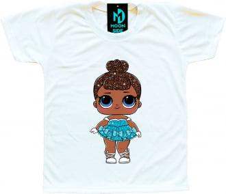 Camiseta Boneca Lol Surprise Miss Baby (Glitter)