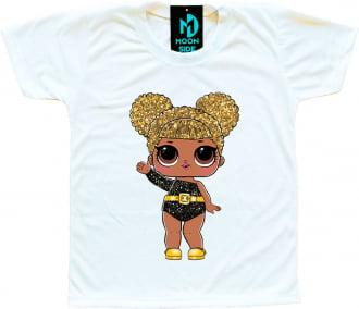 Camiseta Boneca Lol Surprise Queen Bee (Glitter)