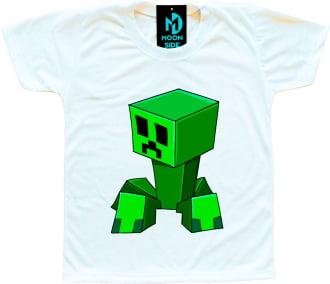 Camiseta Infantil Minecraft Modelo 3