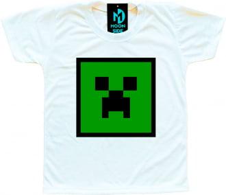 Camiseta Infantil Minecraft Modelo 4