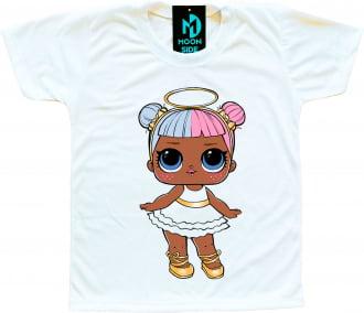 Kit 4 Camisetas LOL Surprise Opposites Club - Dawn e Dusk - Sugar e Spice