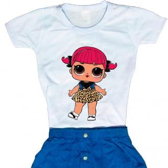 Camiseta Boneca Lol Surprise Cherry