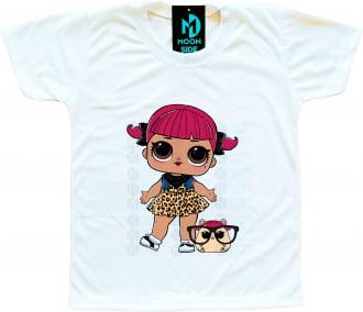 Camiseta Lol Surprise Cherry e Pet Cherry Ham