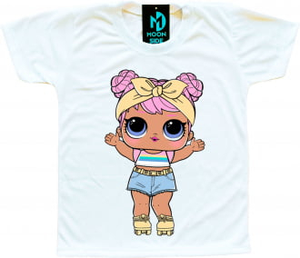 Camiseta Boneca Lol Surprise Dawn