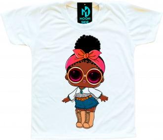 Camiseta Boneca Lol Surprise Foxy