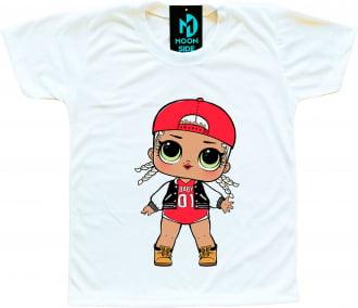 Camiseta Boneca Lol Surprise M.C. Swag