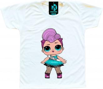 Camiseta Boneca Lol Surprise Miss Punk