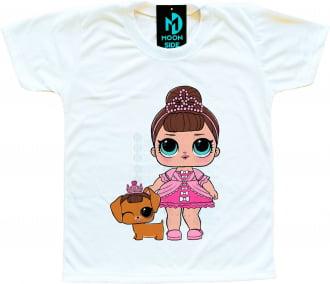 Camiseta Lol Surprise Fancy e Pet Fancy Haute Dog