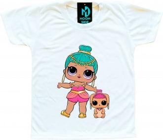 Camiseta Lol Surprise Genie e Pet Bunny Wishes
