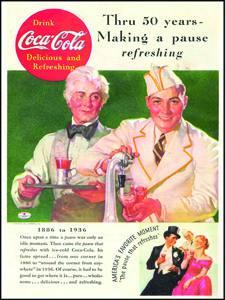 Placa Decorativa Coca Cola Drink Retro Vintage PDV371