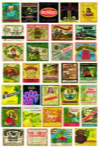 Placas Decorativas Vintage Bebidas Nacionais Retro PDV389