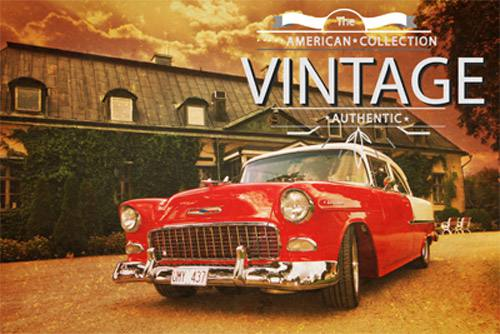Placa Decorativa Retro Carros Chevrolet Vintage PDV048