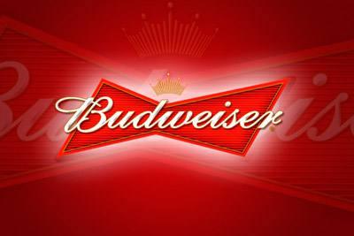 Placa Decorativa Cerveja Budweiser PDV036