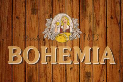 Placa Decorativa Bohemia Cerveja PDV023