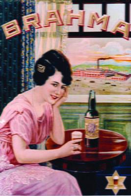Placa Decorativa Cerveja Brahma Retro Vintage PDV260