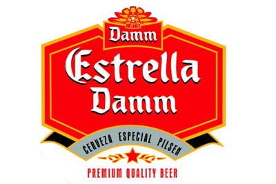 Placa Decorativa Estrella Damm Cerveza PDV039