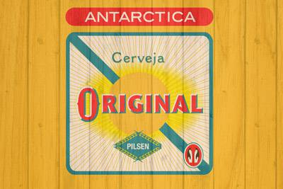 Placa Decorativa para Bar Cerveja Original Antarctica PDV234