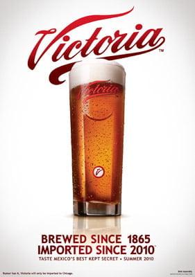 Placa Decorativa Victoria Beer PDV250