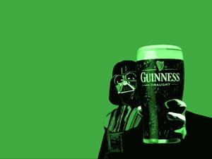 Placas Decorativas Cerveja Guinness Vader PDV319