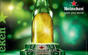 Placas Decorativas Heineken Open your world PDV325