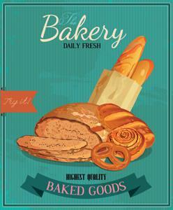 Placa Decorativa Padaria Bakery para cozinha PDV522