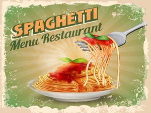 Placas Decorativas Spaghetti Para Cozinha PDV533