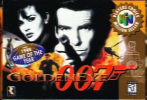 Placas Decorativas 007 Golden Eye PDV487