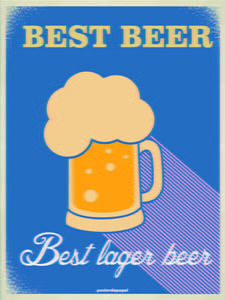 Placas Decorativas Cerveja Best Beer PDV313