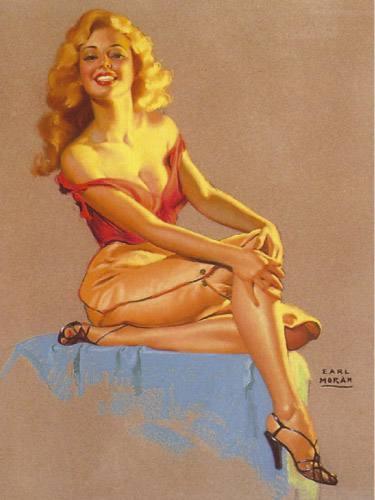 Placa Decorativa Vintage Retro Pin Up Mulher Vestido PDV149