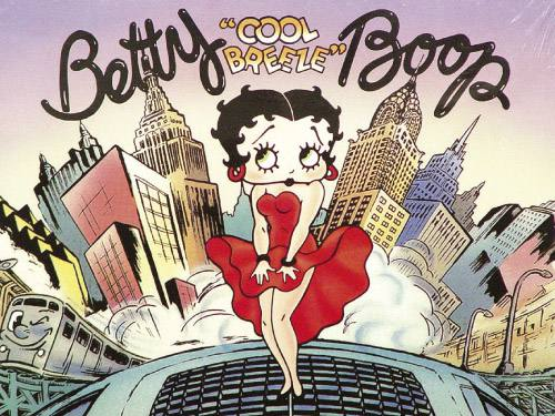 Placa Decorativa Vintage Retro Betty Boop PDV145