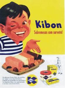 Placa Decorativa Vintage Propaganda Kibon Antiga PDV420