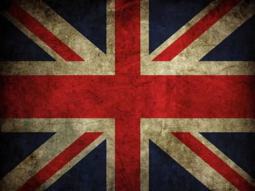 Placa Decorativa Vintage Retro UK Bandeira PDV131