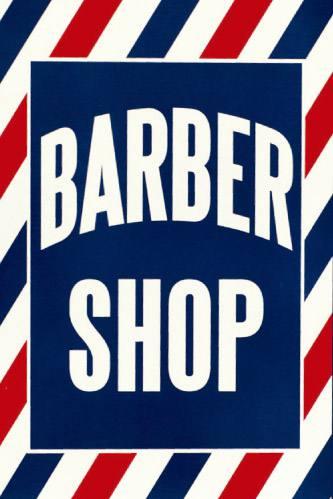 Placa Decorativa Vintage Retro Barber Shop PDV156