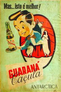 Placas Decorativas Propagandas Antigas Guarana Antarcitca Caçula PDV446