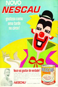 Placas Decorativas Propagandas Antigas Nescau PDV444