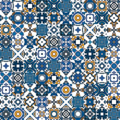 Adesivo azulejo portugues - Papel para azulejos de bano ...
