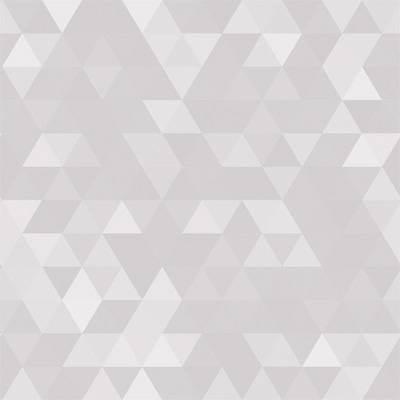 Papel de Parede Geometrico Triangulo Cinza