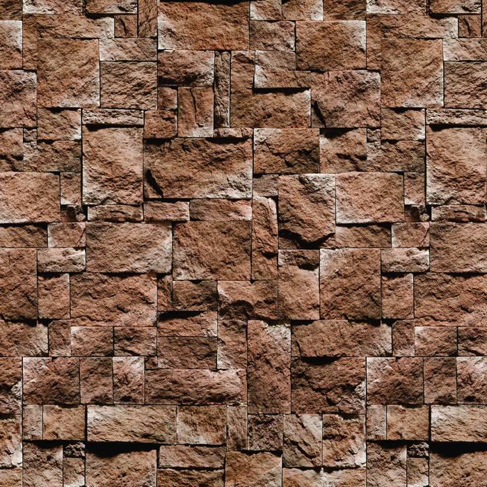 Papel de Parede Pedra São Tomé Autocolante PD38