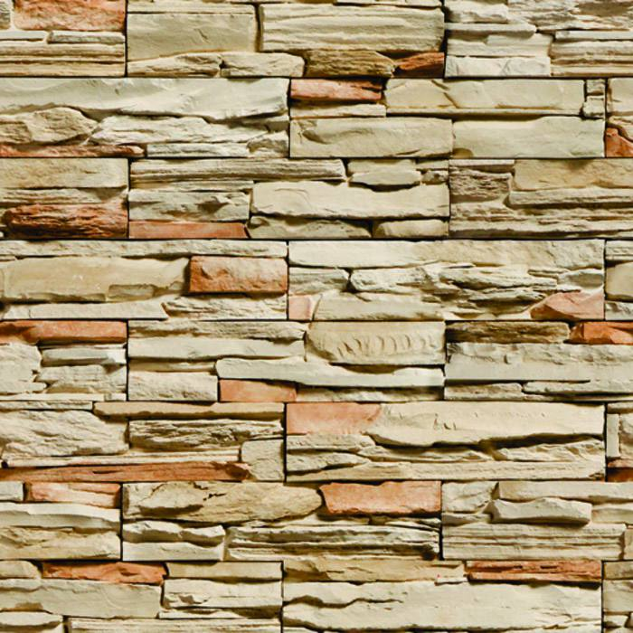 Papel de Parede de Pedra Sala Autocolante PD30