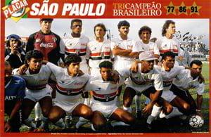 Placa Decorativa São Paulo 1991 PDV464