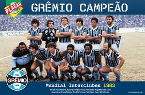 Placa Decorativa Gremio 1983 PDV467